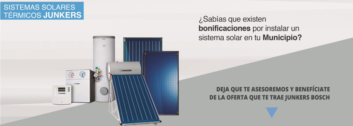 PROMO SOLAR JUNKERS CANARIAS