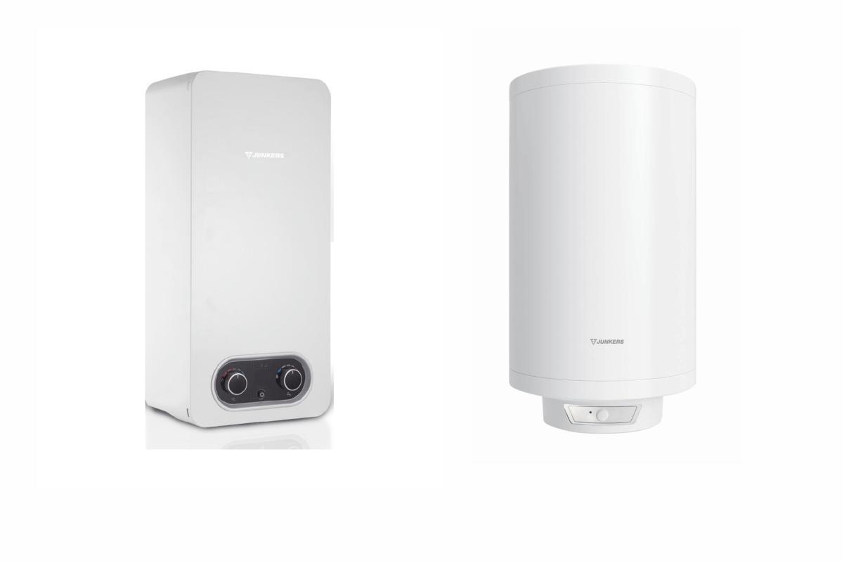 Calentadores de agua:
